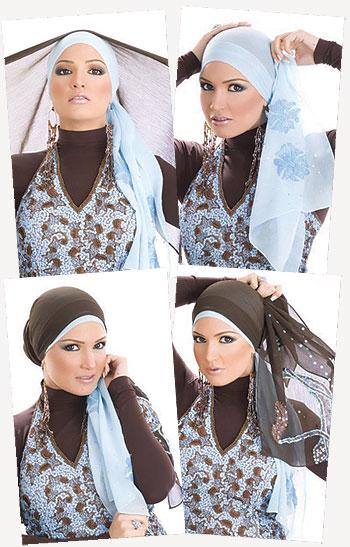 comment bien mettre le hijab. Black Bedroom Furniture Sets. Home Design Ideas
