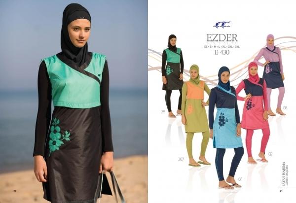 Model Baju Renang Muslim Terbaru 2013